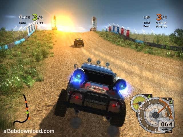 تحميل لعبة سباق سيارات التربو للاندرويد Turbo Rally Racing كاملة