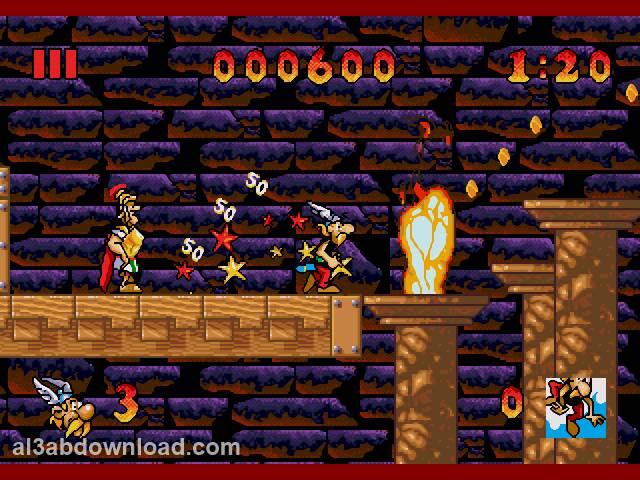 تحميل العاب اكشن ومغامرات للكمبيوتر والاندرويد Asterix and Friends