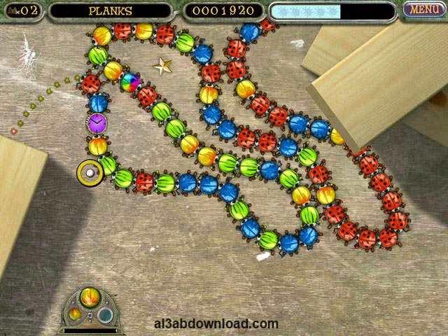 تحميل لعبة زوما الجديدة للكمبيوتر Beetle Bomp كاملة مجانا