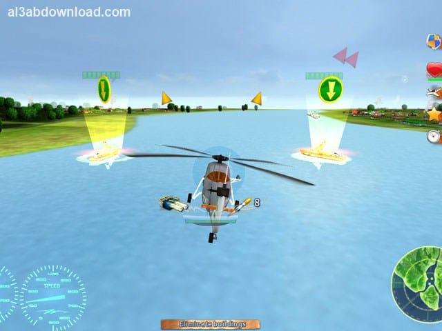 تحميل لعبة حرب الطائرات المروحية الحديثة للكمبيوتر Helicopter Wars