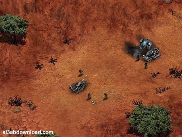 تحميل لعبة الحرب الاستراتيجية ريد اليرت للكمبيوتر Red Earth