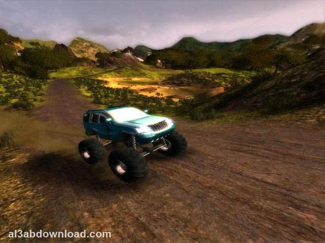 تحميل العاب سيارات الدفع الرباعي فور ويل للكمبيوتر Bigfoot 4x4 Challenge
