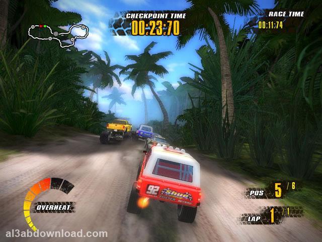 تحميل لعبة سباق السيارات الخطيرة للكمبيوتر Offroad Racers