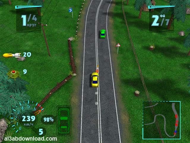 تحميل لعبة تفجير السيارات للكمبيوتر Arcade Race Crash مجانا