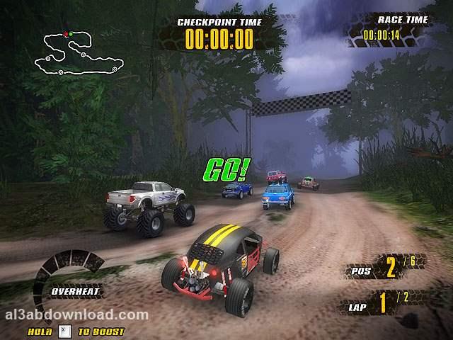 تحميل العاب سباق سيارات كاملة للكمبيوتر Extreme Jungle Racers