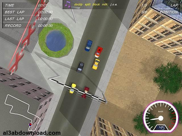 تحميل ألعاب سيارات خفيفة للكمبيوتر كامله Shortcut Racers