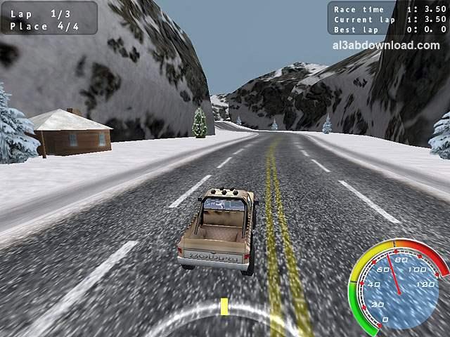 تحميل لعبة سباق الشاحنات المجنونة Pickup Racing Madness