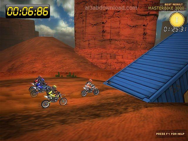 تحميل العاب سباق الدراجات النارية للكمبيوتر Desert Moto Racing مجانا