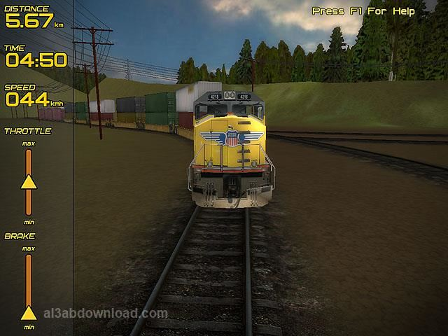 تحميل العاب قيادة القطارات الحقيقية من الداخل مجانا Train Simulator