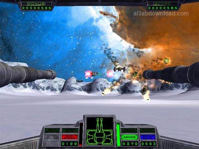 تحميل العاب حرب النجوم للكمبيوتر Star Gunner مجانا