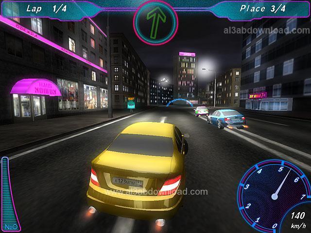 تحميل العاب سباق سيارات جديدة للكمبيوتر Midnight Racing