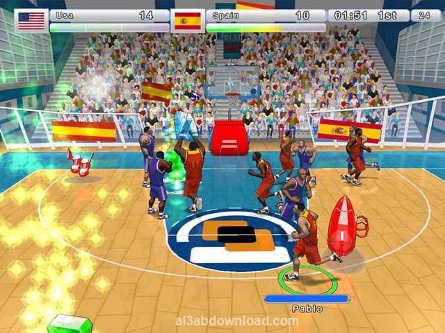 تحميل العاب رياضة كرة السلة للكمبيوتر مجانا Incredi Basketball
