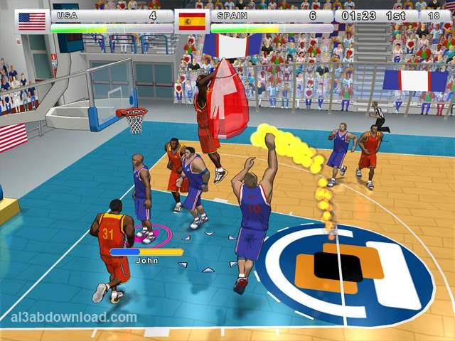 تحميل العاب كرة سلة مجانا 2014