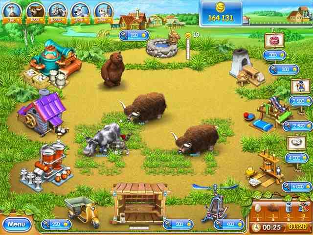تحميل لعبة فارم فرنزي 3 Farm Frenzy الجديدة 2014