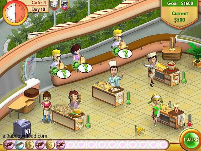 تحميل لعبة اميلي كافيه download Amelie's Cafe