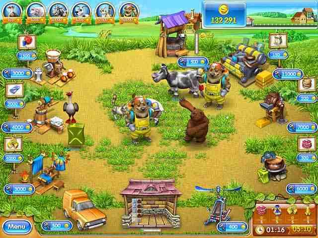 تحميل لعبة المزرعة السعيدة فارم فرنزي كاملة مجانا للكمبيوتر والاندرويد