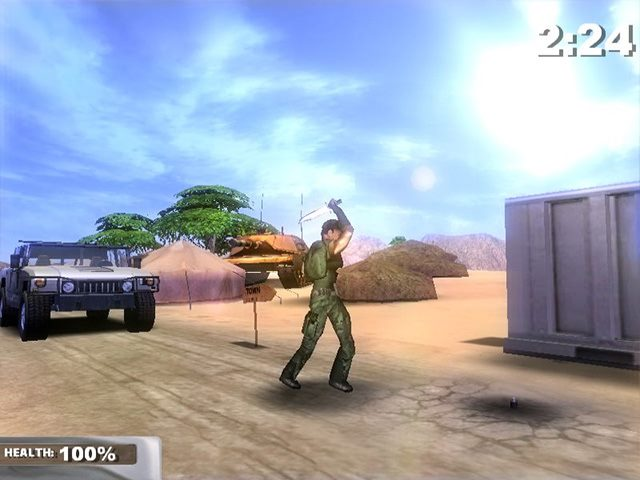 تحميل لعبة المهمات الحربية Operation Alpha Zylon مجانا