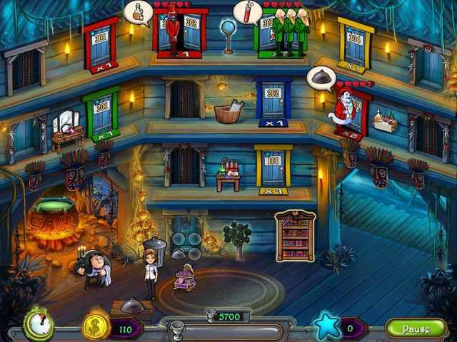تحميل لعبة فندق الاشباح Haunted Domains مجانا