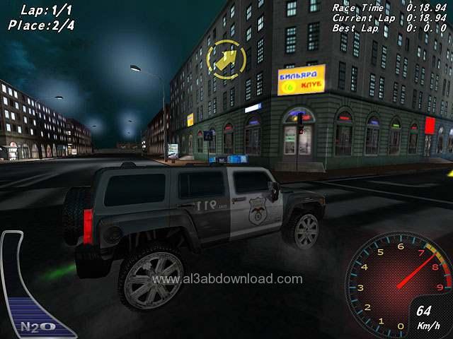 تحميل العاب لعبة سيارات الشرطة الجديدة
