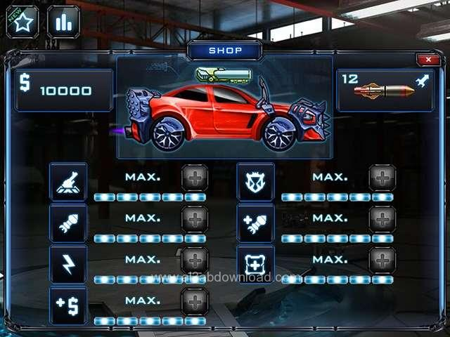 تحميل لعبة السيارات المقاتلة 2014 ، تنزيل لعبة السيارات
