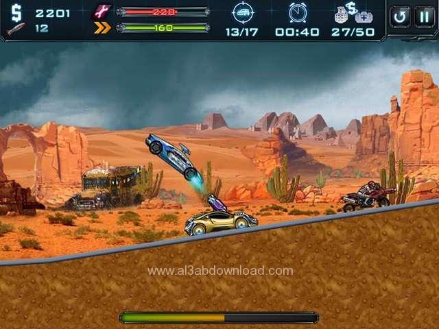 تحميل العاب السيارات المتحولون الحربية للكمبيوتر Robo Racing