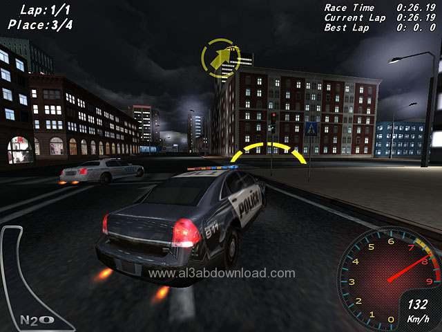 لعبة سباق ومطاردة سيارات الشرطة Crazy Police Racers