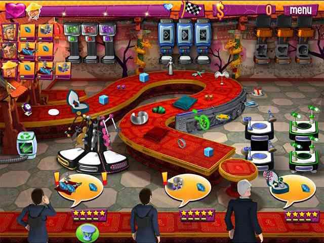 لعبة بائعة في محل مجوهرات