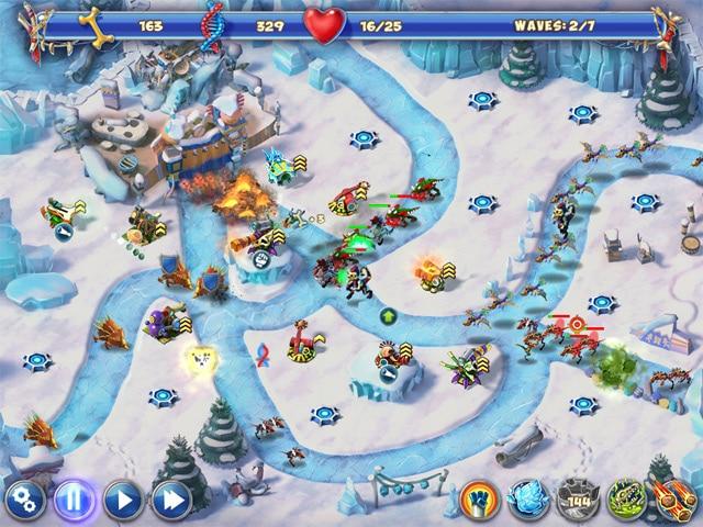 تحميل لعبة معركة الديناصورات Dino R-r-age Defense
