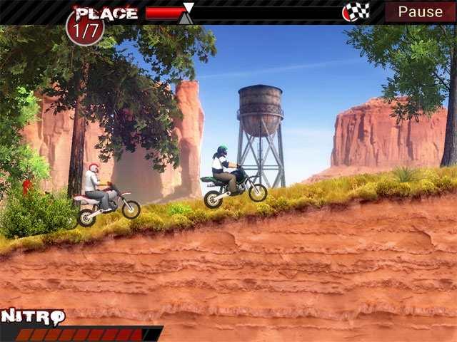 تحميل العاب سباق الدراجات النارية للكمبيوتر مجانا Dirt Bikes Super Racing - العاب سباق