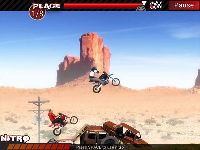 تحميل العاب سباق الدراجات النارية للكمبيوتر مجانا Dirt Bikes