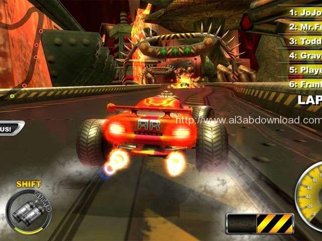تحميل لعبة السيارات المحاربة Lethal Brutal Racing