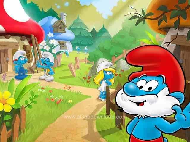 تحميل لعبة السنافر smurfs village مجانا للاندرويد والكمبيوتر