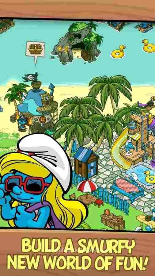 تنزيل لعبة smurfs village للكمبيوتر