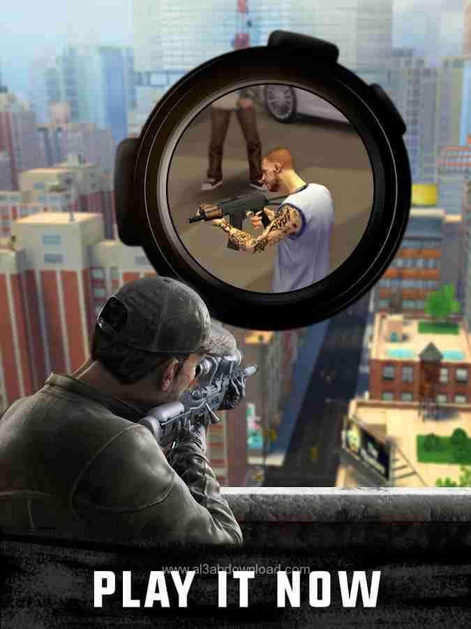 تحميل لعبة القناص سنايبر sniper-3d-assassin