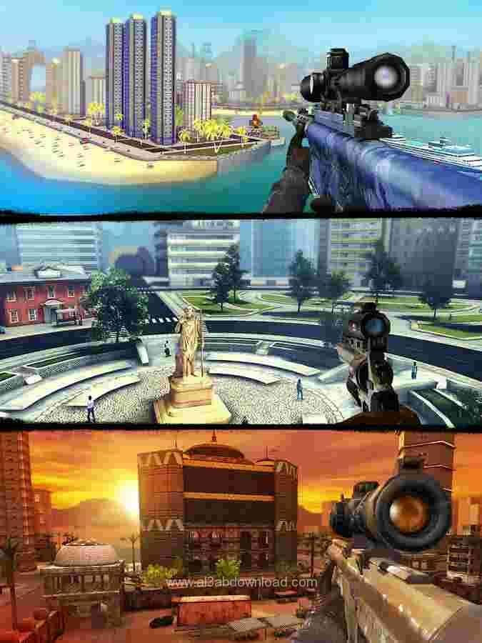 تحميل لعبة القناص المحترف sniper-3d-assassin