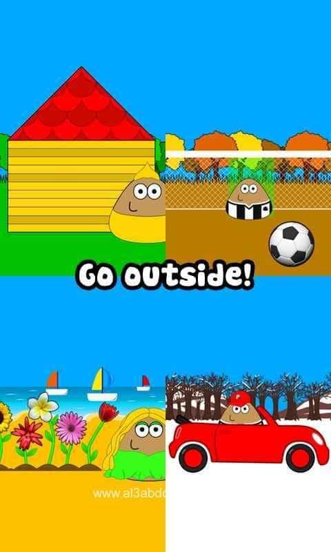 تحميل لعبة بو Pou للاندرويد اخر تحديث Download game Pou
