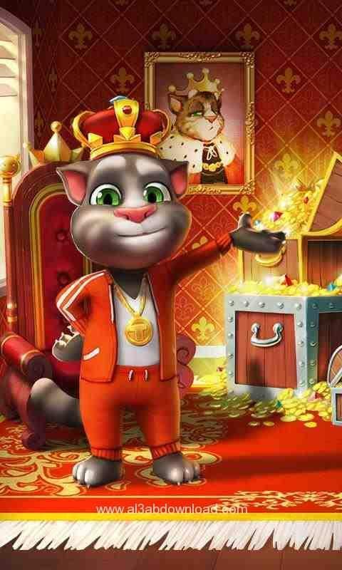 تحميل لعبة القط الناطق Talking Tom Cat للايفون والاندرويد والكمبيوتر