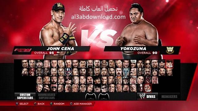 تحميل العاب كمبيوتر لعبة المصارعة 2017 WWE Raw مجانا للكمبيوتر