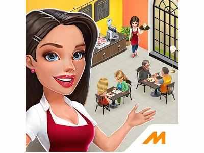 تحميل افضل لعبة طبخ للاندرويد مقهى الوصفات والقصص My Cafe مجانا