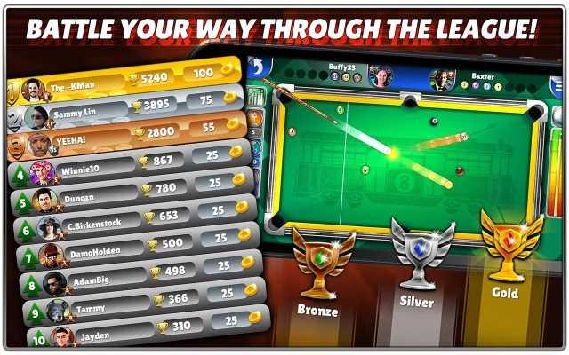 تحميل لعبة بلياردو 8 ball pool للكمبيوتر والاندرويد برابط سريع ومجاني