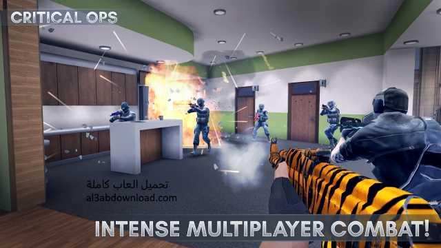 تحميل لعبة كاونتر الجديدة مجانا برابط واحد للاندرويد Critical Ops