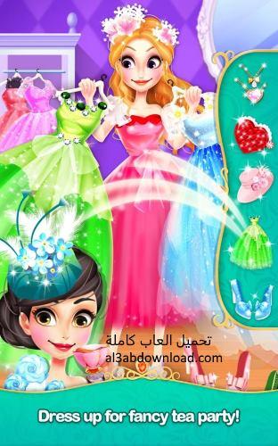 تحميل العاب بنات تلبيس ومكياج مجانا كاملة للاندرويد Princess Salon