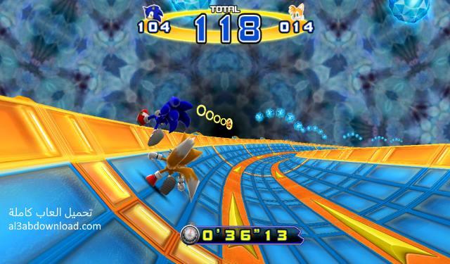 تحميل لعبة سونيك الجديدة للكمبيوتر والاندرويد Sonic 4 Episode II