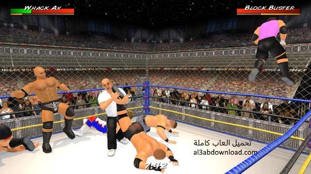 تحميل لعبة مصارعة 2018 مجانا للكمبيوتر والموبايل Wrestling Revolution
