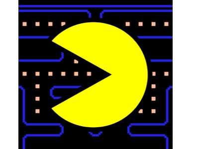 تحميل لعبة باكمان القديمة للكمبيوتر والموبايل بحجم صغير PAC-MAN