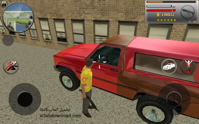 تحميل لعبة جاتا جراند مجانا للاندرويد برابط واحد Real Gangster