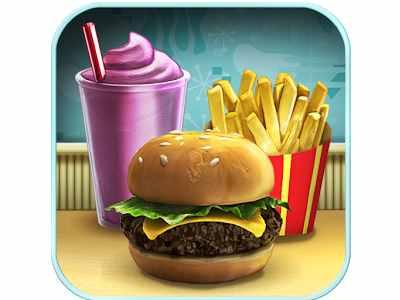 افضل العاب الاندرويد الخفيفة للتحميل مجانا برابط سريع Burger Shop
