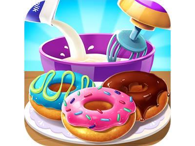 تحميل العاب بنات طبخ للاندرويد كاملة - صنع الكيك Make Donut