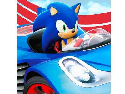 تحميل لعبة سونيك داش الأصلية مجانا للأندرويد Sonic Racing