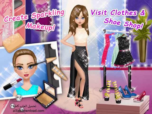 تحميل العاب تلبيس بنات عرض أزياء وموضة مجانا للموبايل Girl Fashion